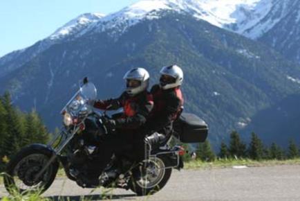 la carnia in moto